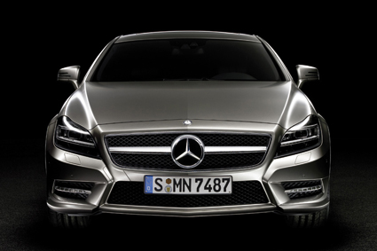 Frontal del Mercedes-Benz CLS
